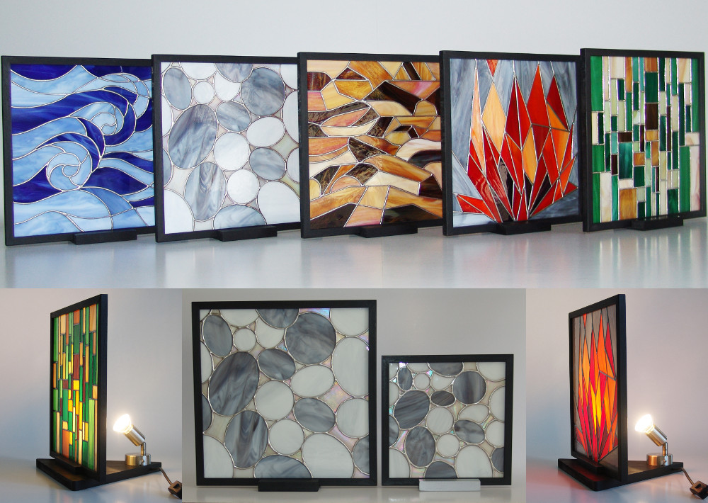 5 elementi- Feng Shui- lampade-- quadri- mosaico