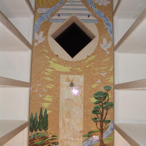 Posa dell'opera nella cappella