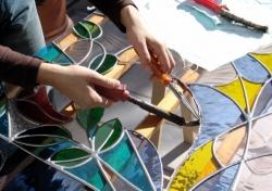 Vetrate e mosaici artistici restaurabili e modificabili