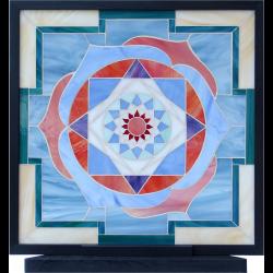 Quadro Yantra  Venere  a mosaico